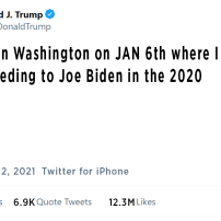 Fake Trump Tweet-Conceeding